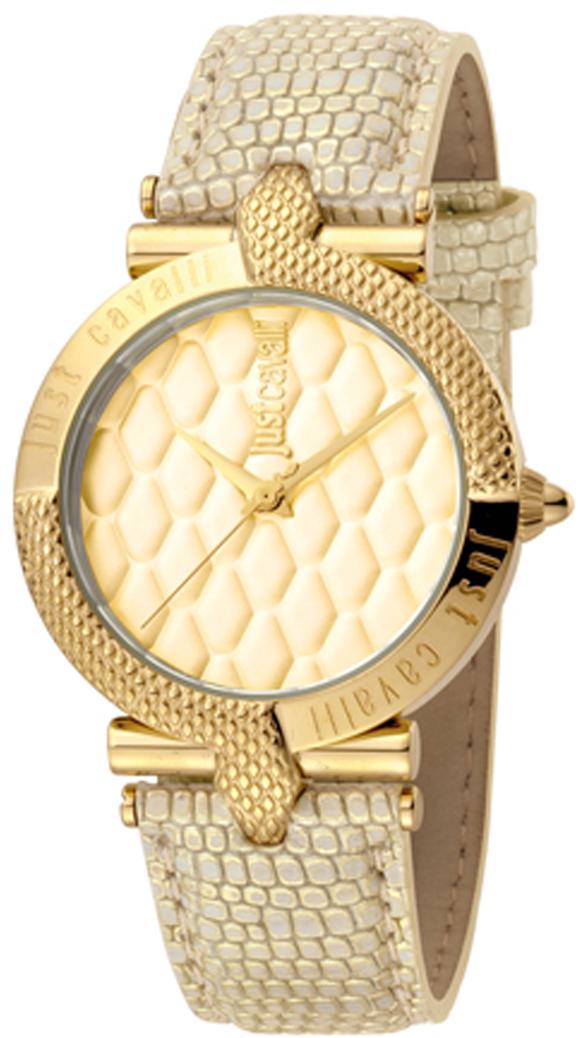 Часы наручные женские Just Cavalli Animal, цвет: золотой. JC1L047L0025 все цены