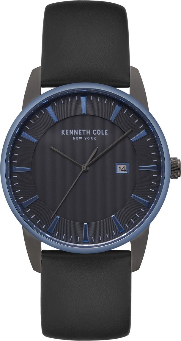 Часы наручные мужские Kenneth Cole Classic, цвет: черный. KC15204004 все цены