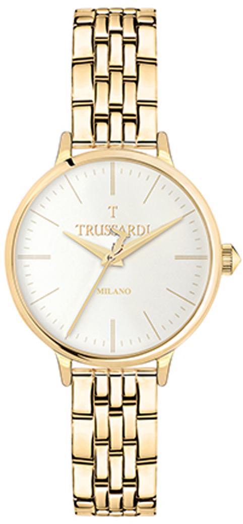 Часы наручные женские Trussardi T-Sun, R2453126501, золотой часы trussardi trussardi tr002dweftd4
