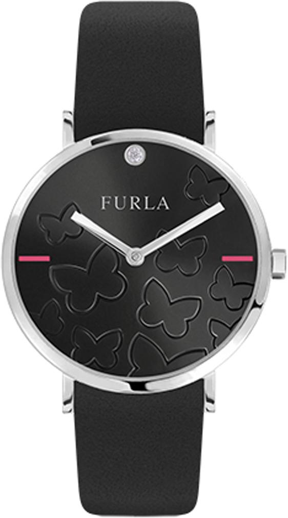 лучшая цена Часы наручные женские Furla Giada Butterfly, цвет: черный. R4251113511