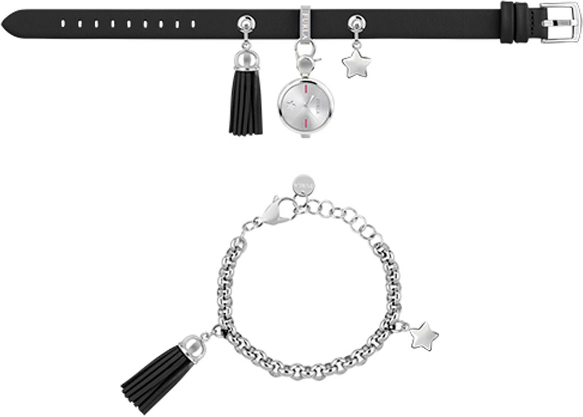 лучшая цена Часы наручные женские Furla Stacy, цвет: черный. R4251115506