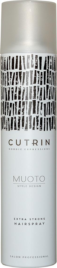 Лак для волос Cutrin Muoto Extra Strong Hairspray, 300 мл paul mitchell лак сильной фиксации для волос super clean extra 300 мл