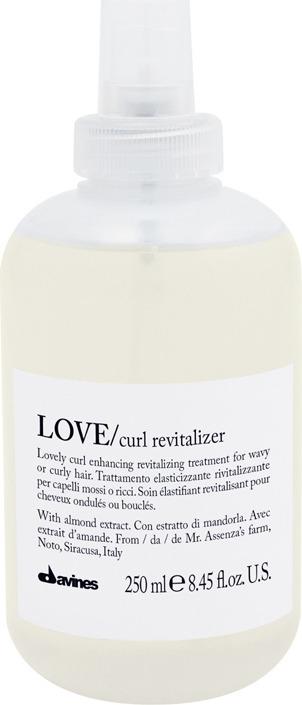 Ревиталайзер для усиления завитка Davines Love Curl Revitalizer, 250 мл очищающая пенка для усиления завитка 500 мл davines love