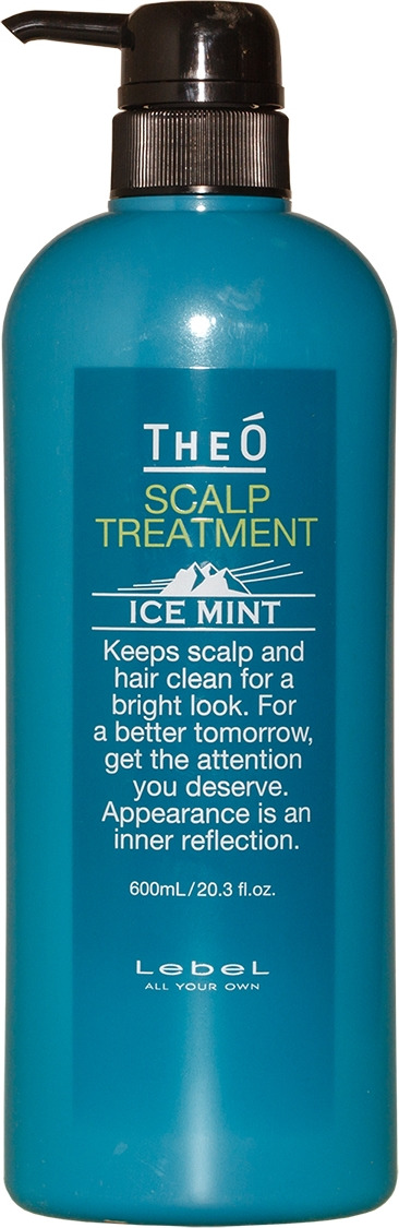Крем для кожи головы Lebel Theo Scalp Treatment Ice Mint, 600 мл эмульсия alterna lengthening hair and scalp elixir 50 мл