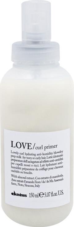 Праймер для усиления завитка Davines Love Curl Primer, 150 мл очищающая пенка для усиления завитка 500 мл davines love