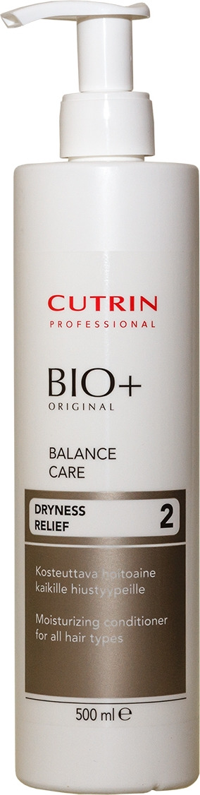 Бальзам для волос Cutrin Bio+ Balance Care, 500 мл cutrin баланс шампунь bio balance shampoo 200 мл
