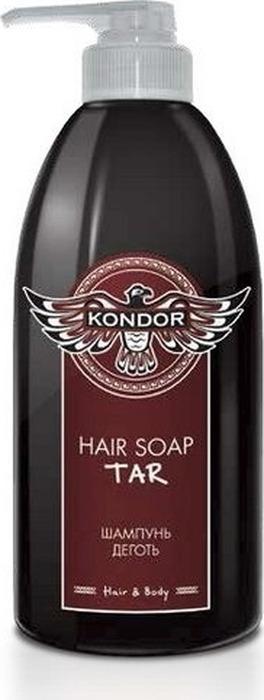 Шампунь для волос Kondor Hair&Body Деготь, 300 мл
