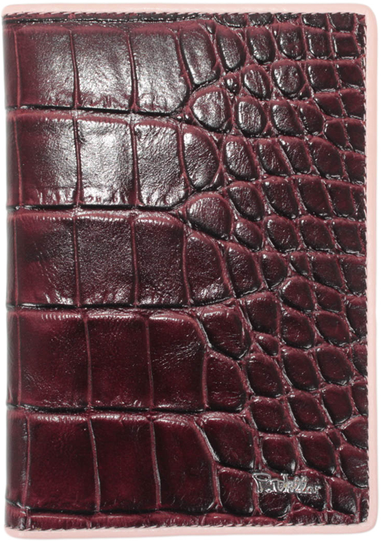 Обложка для паспорта женская Paulo Villar, цвет: бордовый. 00057539 обложка для паспорта женская esse page цвет бордовый gpge00 000000 fi506o k100