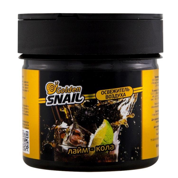 Ароматизатор Golden Snail БАНКА Лайм-Кола автомобильный ароматизатор golden snail aroma football ванильный крем