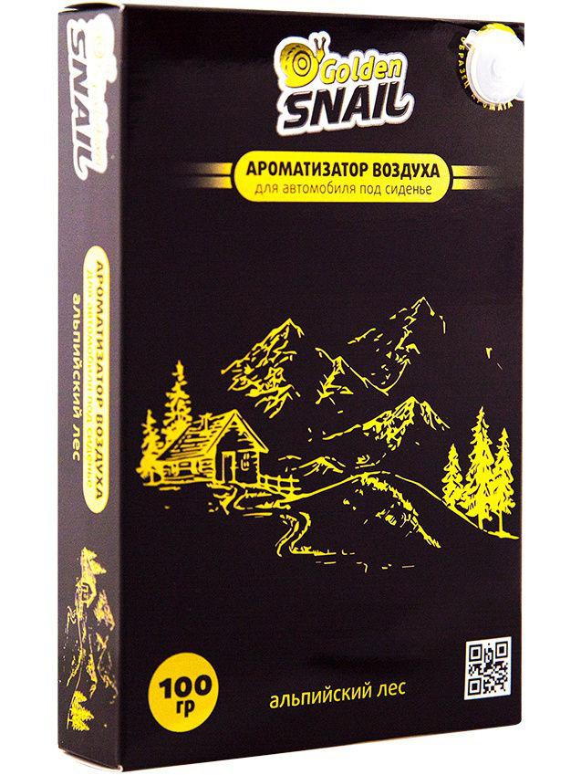 Ароматизатор под сиденье Golden Snail_ Альпийский Лес цены