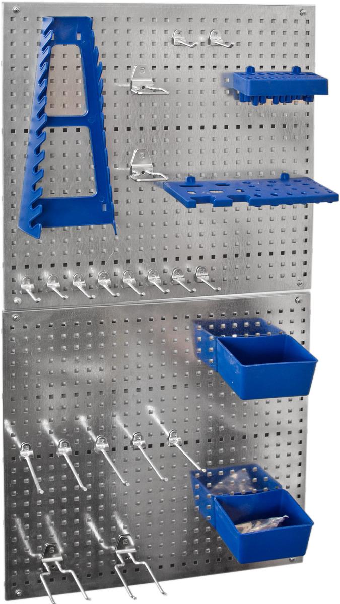 Набор крепежа ESSE, с металлическими перфопанелями, 26 предметов набор коробов для хранения ecowoo boy and girl 2 шт