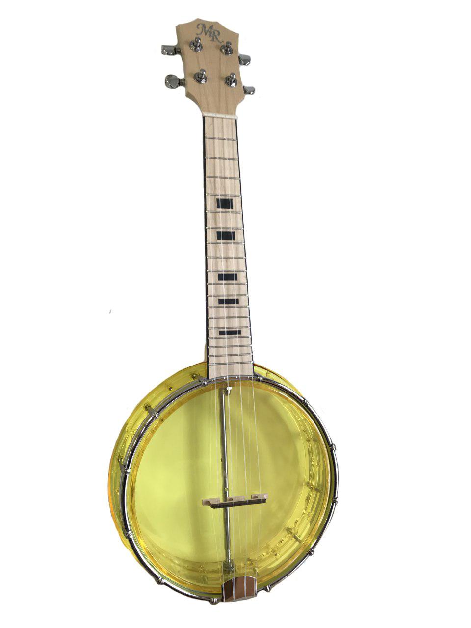 цена Банджолеле MARTIN ROMAS концертная, цвет: желтый, BP-1 YW онлайн в 2017 году