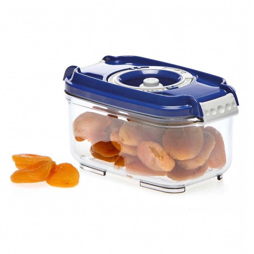 Пищевой вакуумный контейнер, Wonder Life, WL-ST-500-Blue, синий, 0.5 л цена 2017