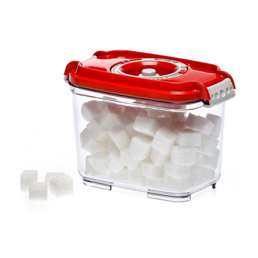 Пищевой вакуумный контейнер, Wonder Life, WL-ST-800-Rd, красный, 0.8 л цены