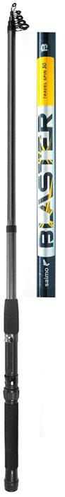 Удилище спиннинговое Salmo Blaster Travel Spin 30 2.70, телескопическая, 2,7 м
