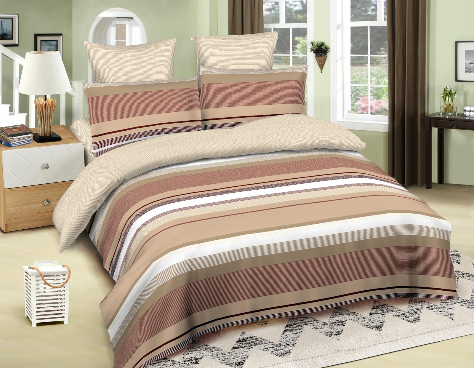 Комплект белья Amore Mio Nairobi, 1,5-спальный, наволочки 70x70