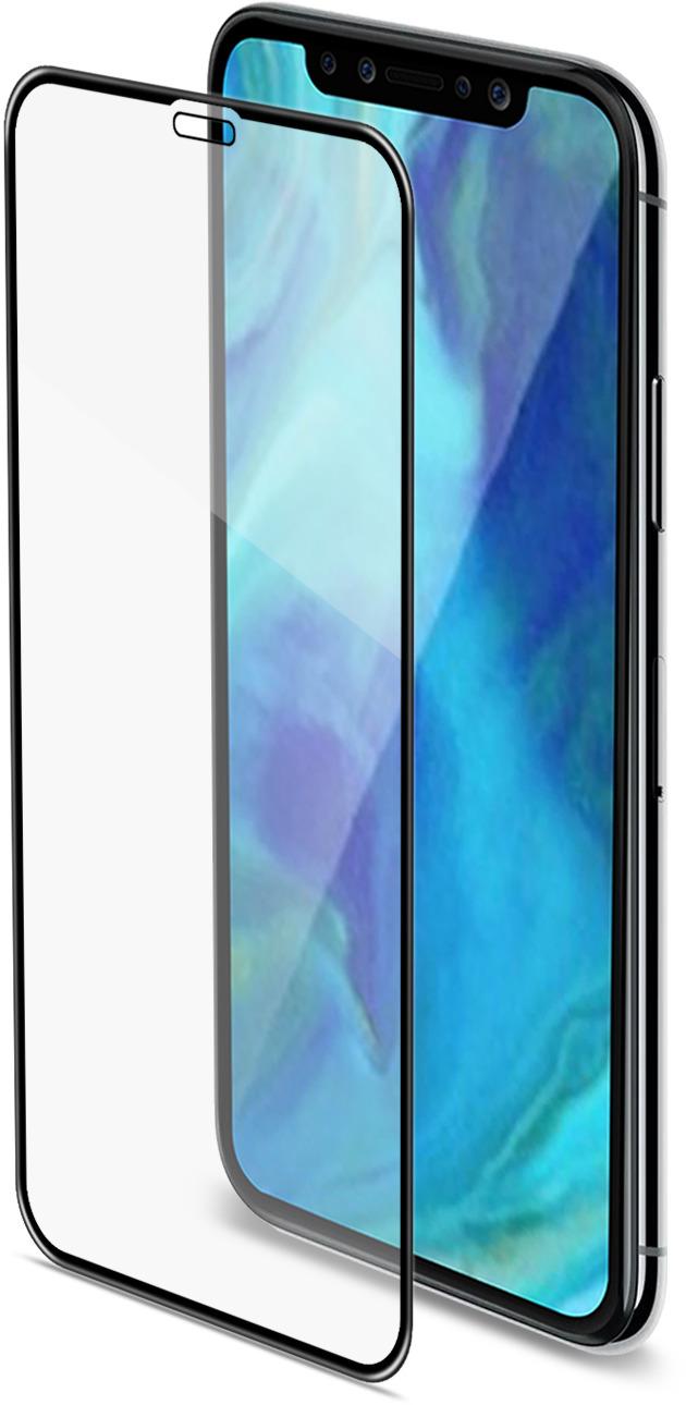 Фото - СтеклозащитноеCellyGlass 3DдляAppleiPhoneXR, Black защитное стекло pero 3d для iphone xr чёрное