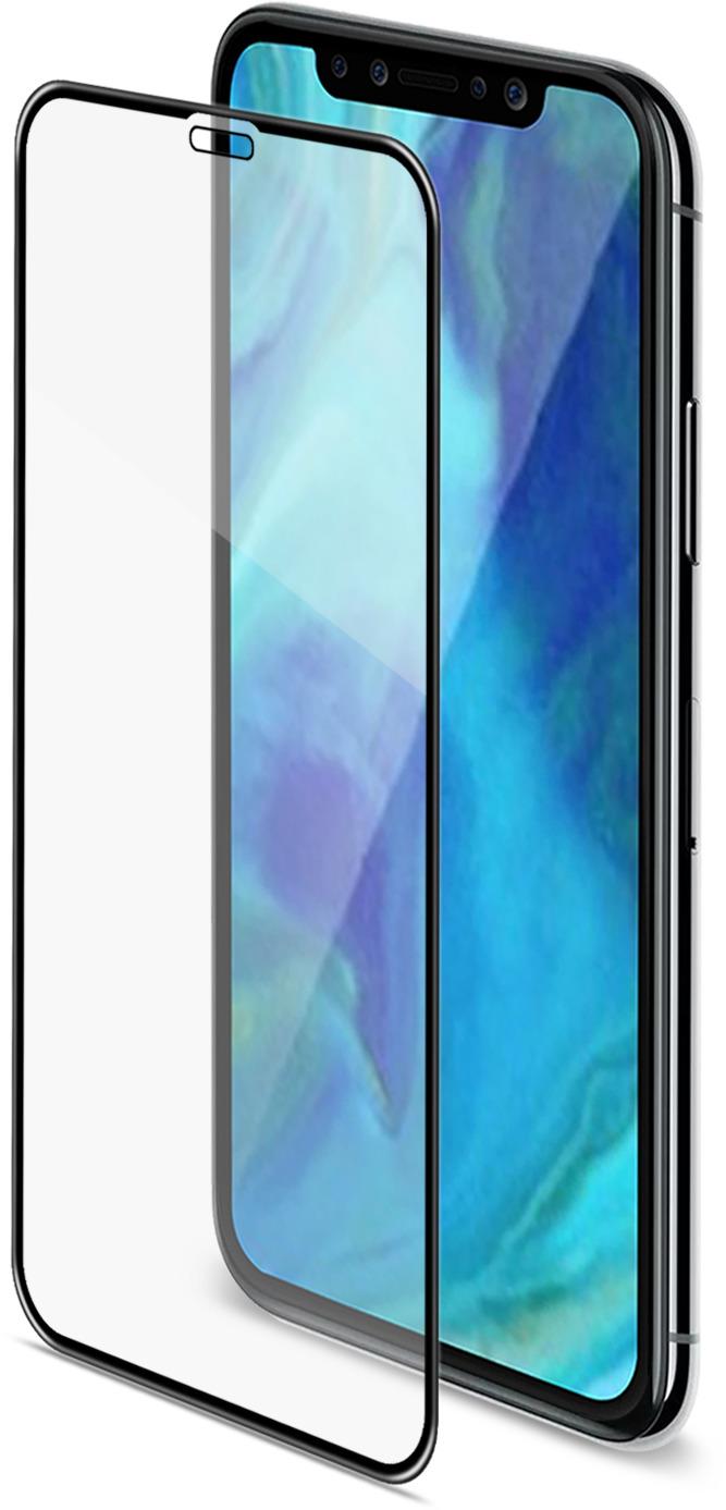 СтеклозащитноеCellyGlass 3DдляApple iPhone XS Max, Black аксессуар защитное стекло для apple iphone xr neypo 3d full glass black 3dng5385
