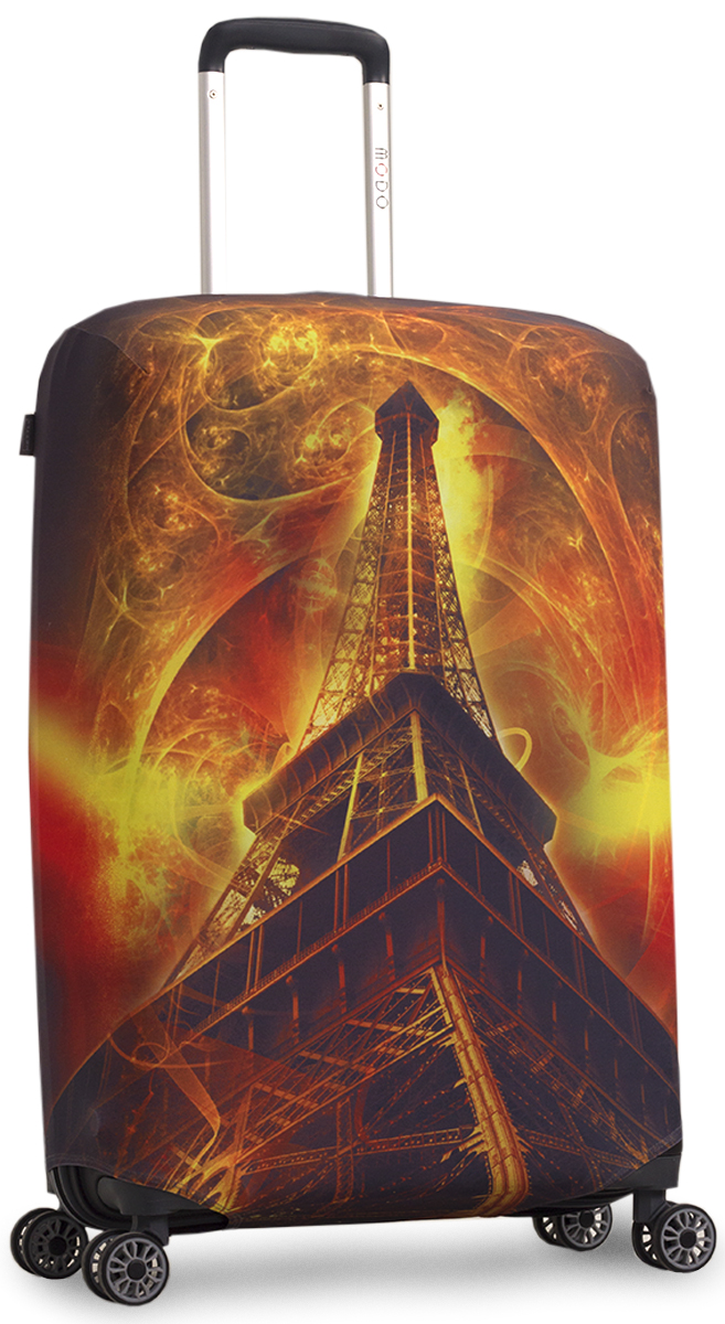 Чехол для чемодана Mettle Эйфель. Размер M (высота чемодана 55-70 см) чехол для чемодана mettle творческо размер m высота чемодана 55 70 см