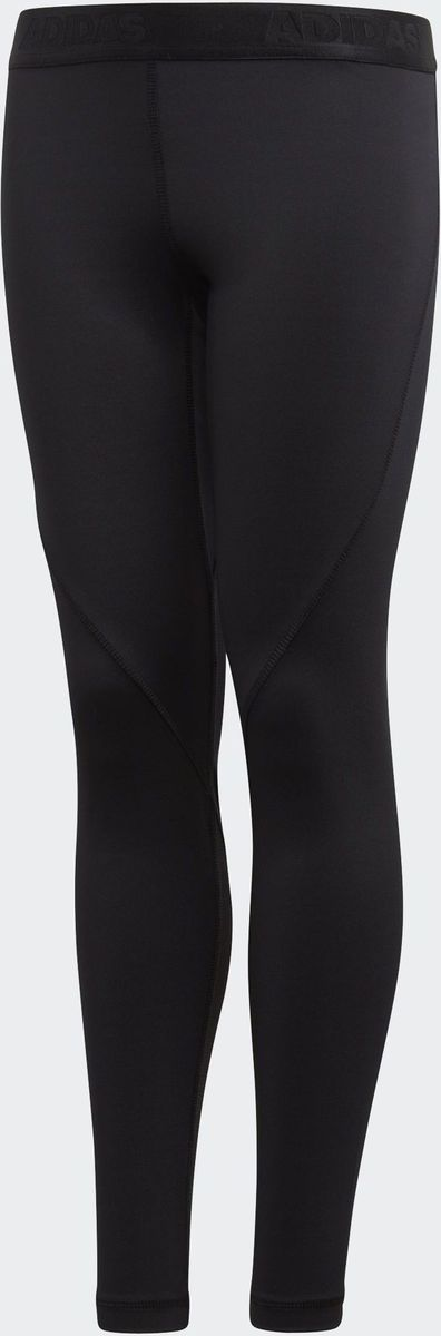 Фото Леггинсы для мальчика Adidas Yb Ask Spr Lt, цвет: черный. CF7132. Размер 176