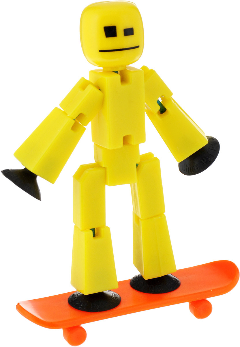 Stikbot Фигурка с аксессуарами Ролевые аксессуары желтый