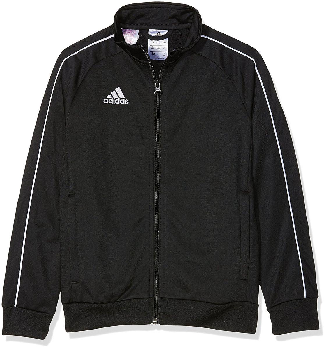 Куртка детская Adidas Core18 Pes Jkty, цвет: черный. CE9052. Размер 116CE9052