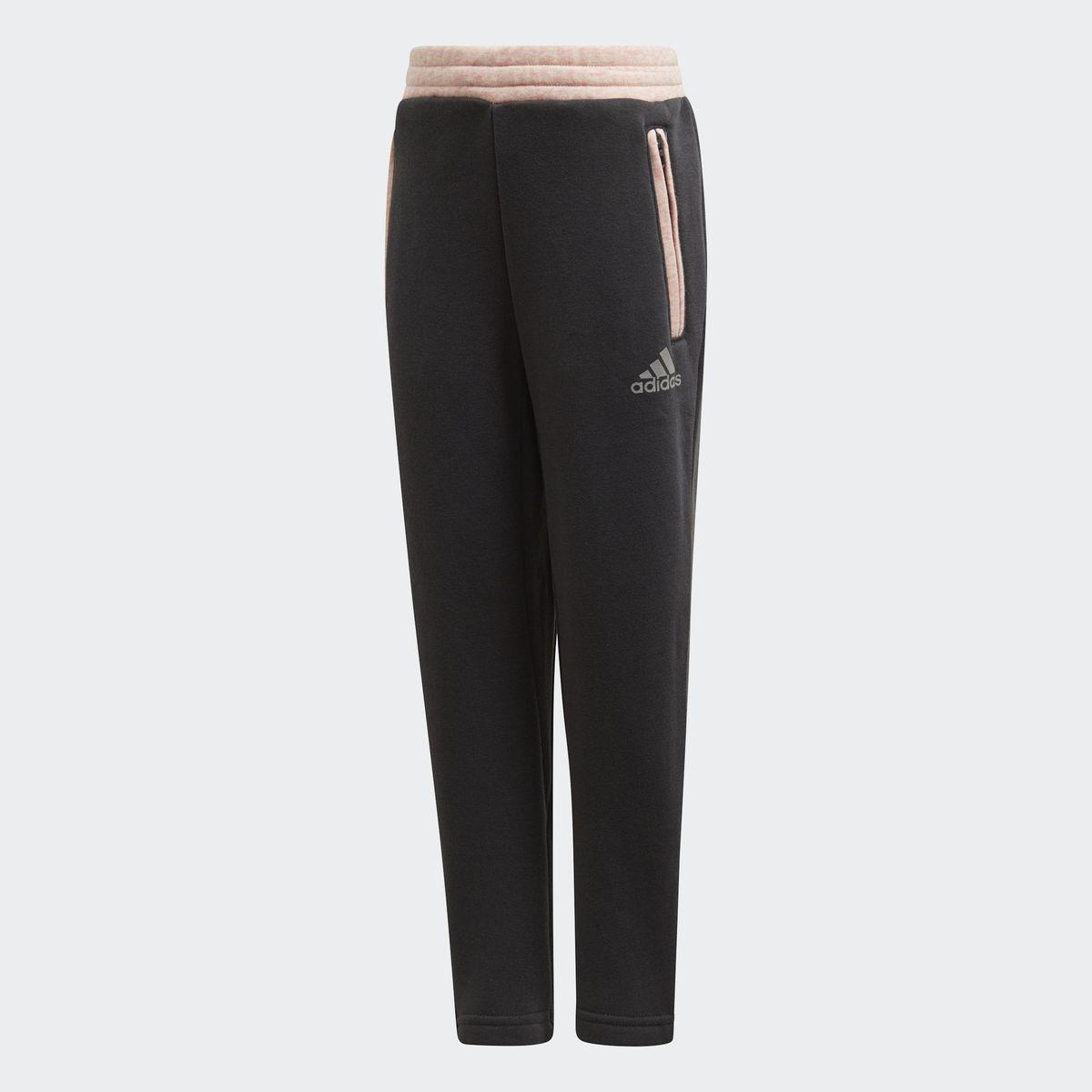 Брюки спортивные для девочки Adidas Lg Comfi Pant, цвет: черный. DJ1462. Размер 122DJ1462