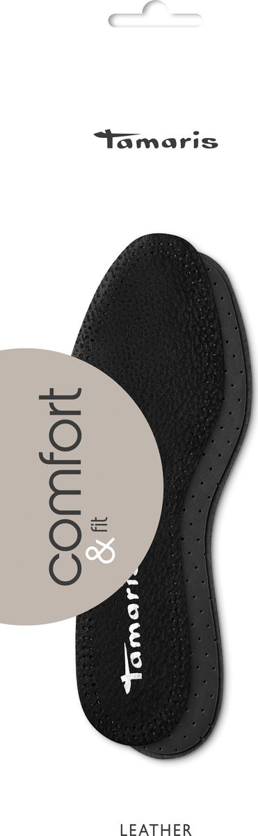 Стельки Tamaris, кожаные, сохраняющие ощущение свежести. Размер 36 стельки tamaris tamaris ta171awxxu50