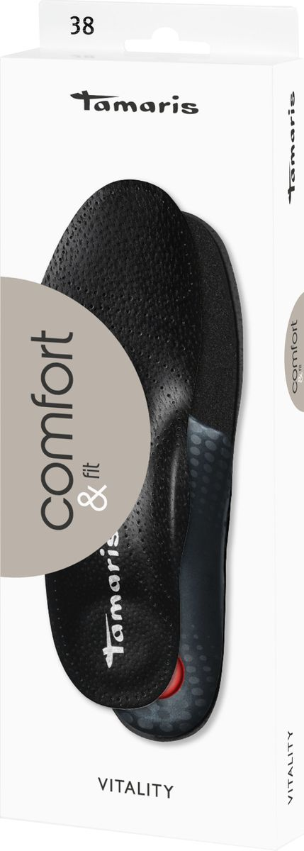 Стельки Tamaris, ортопедические, сохраняющие свежесть внутри обуви. Размер 37 стельки ортопедические детские luomma