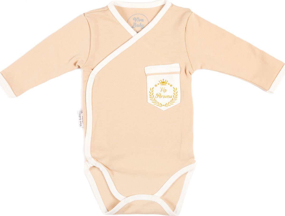 Боди Viva Baby боди viva baby белый 74 размер