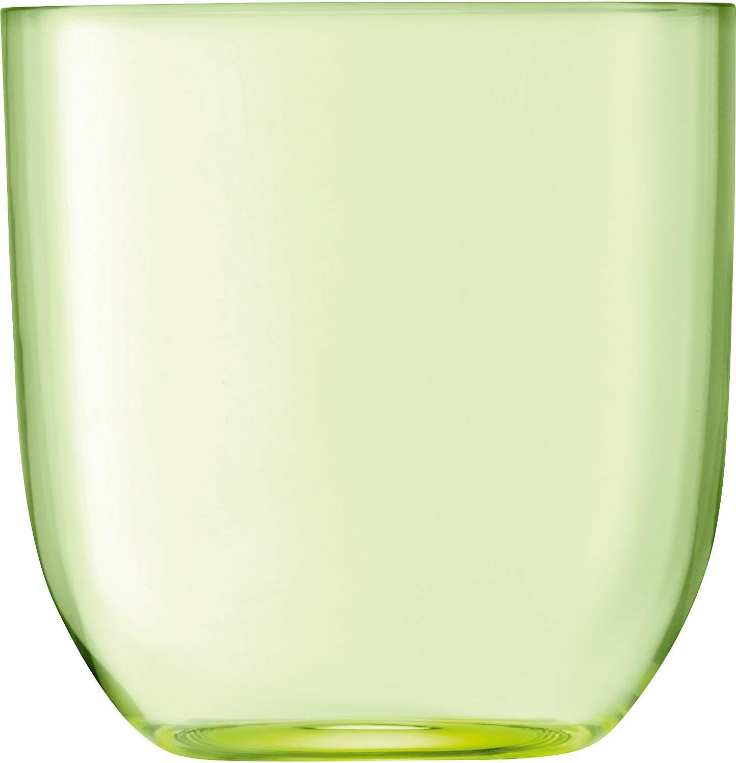 Набор стаканов LSA Hint, цвет: зеленый, 400 мл, 2 шт