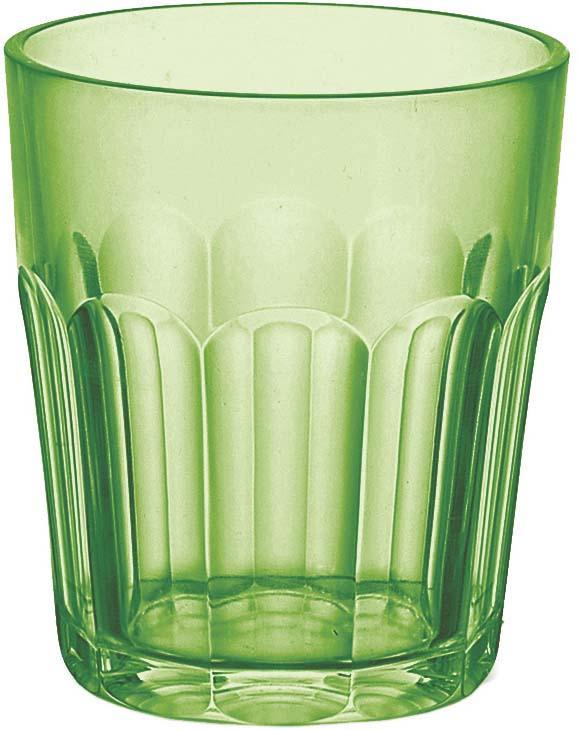 Стакан Guzzini Happy Hour, цвет: зеленый, 350 мл