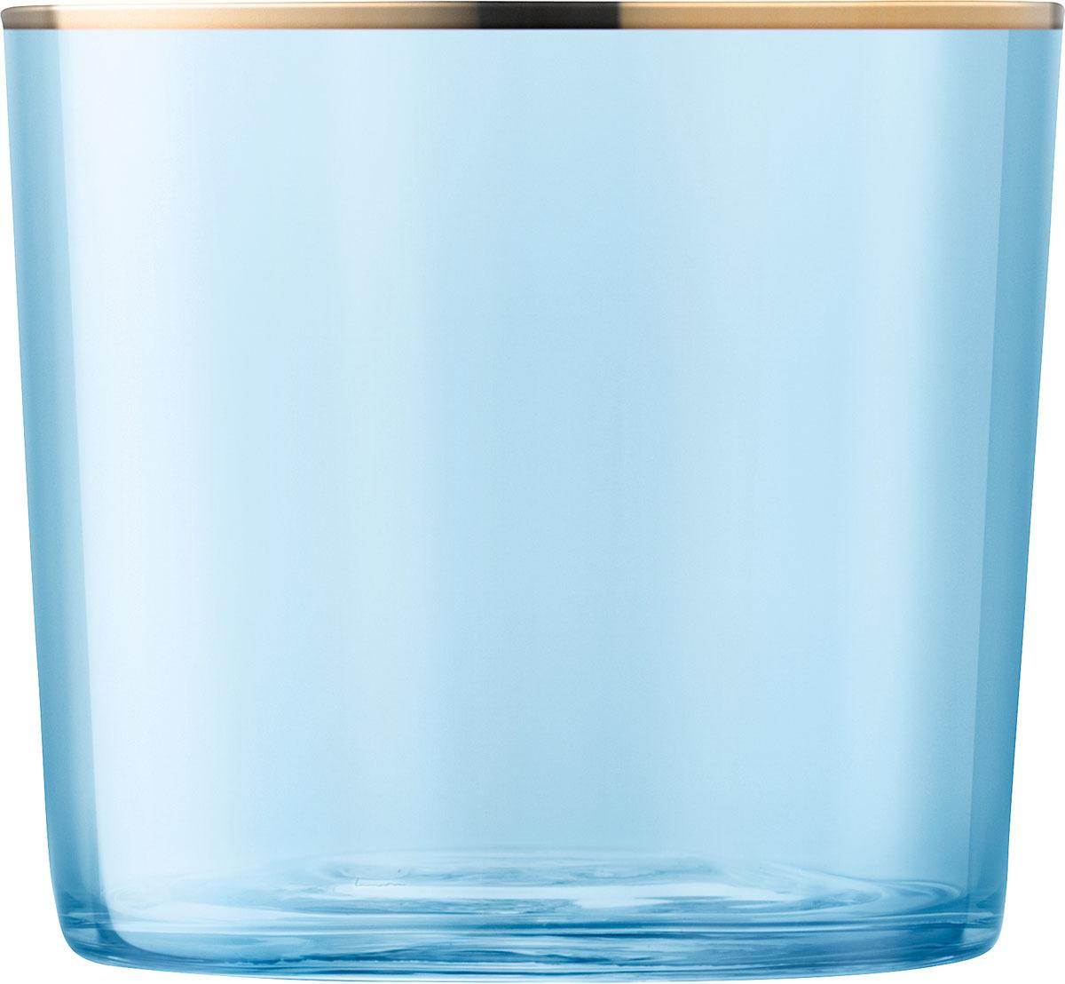 Набор стаканов LSA Sorbet, цвет: голубой, 310 мл, 2 шт