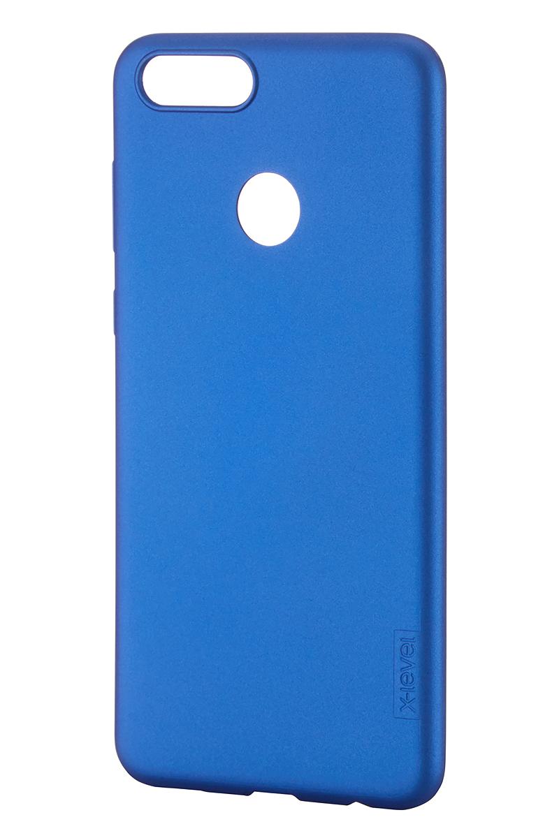 Чехол для сотового телефона X-level Huawei Honor 7X, синий