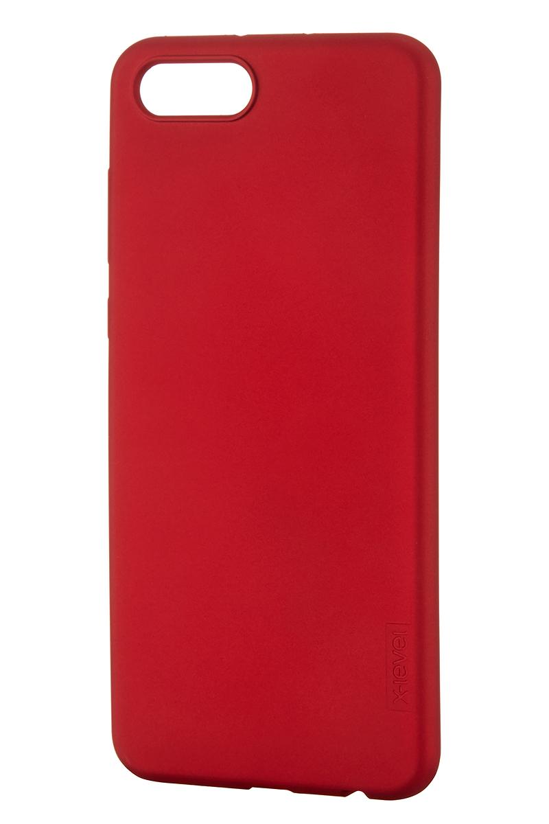 Чехол для сотового телефона X-level Huawei Honor View 10, красный