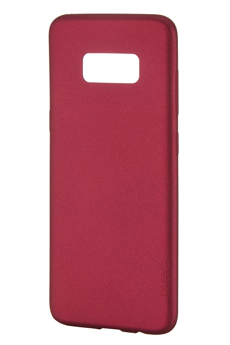 Чехол для сотового телефона X-level Samsung S8, бордовый