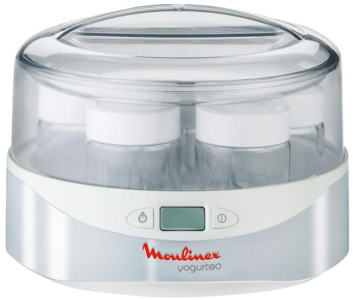 Йогуртница Moulinex YG230131YG230131Благодаря LCD-дисплею с электронным таймером вы можете очень легко контролировать время приготовления. Маркер срока годности на крышке позволит вам контролировать свежесть ваших йогуртов. Работает автоматически, выключается в соответствии с заданной регулировкой таймера. Рекомендуем!