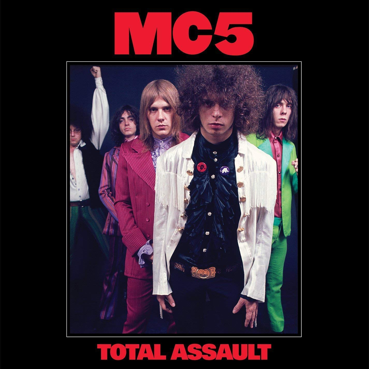 MC 5, MC5 MC5. Total Assault. 50Th Anniversary Collection (3 LP) цены