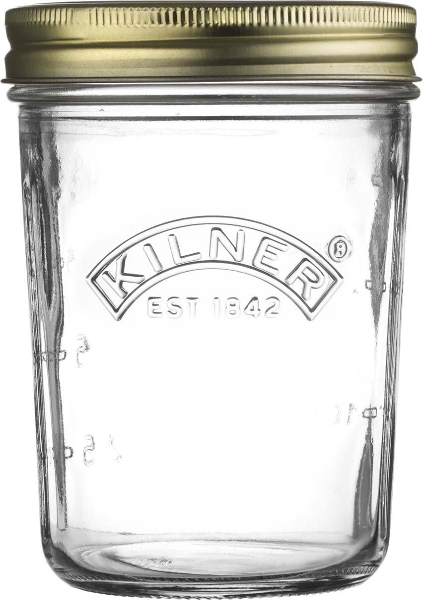 Банка для консервирования Kilner Preserve, с широким горлышком, 350 мл