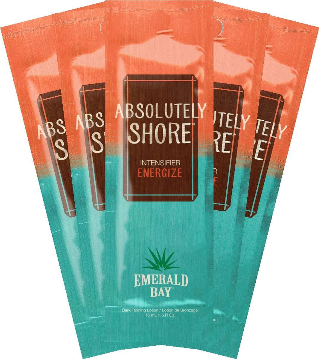 Крем для загара в солярии Emerald Bay Absolutely Shore, 15 мл х 5 шт крем для загара в солярии emerald bay choco latta love 15 мл х 5 шт