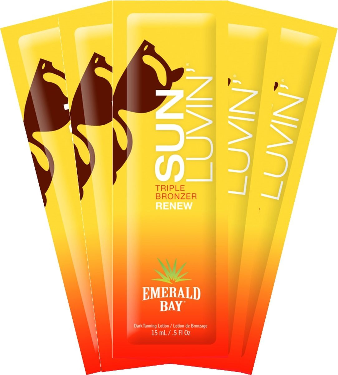 Крем для загара в солярии Emerald Bay Sun Luvin Triple Shot Bronzer крема для загара в солярии