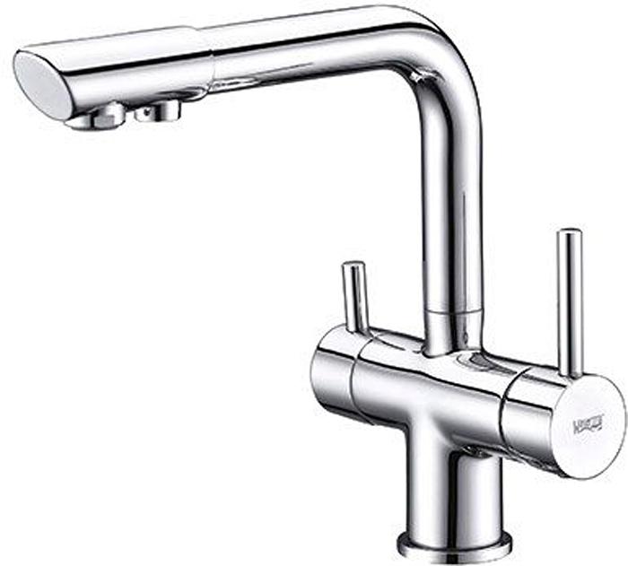 Смеситель для кухонной мойки WasserKraft, под фильтр. A8017A8017Керамический картридж 35мм, Sedal (Испания), Встроенный силиконовый аэратор Neoperl CASCADE (Германия) для равномерного распределения струи Рекомендуем!