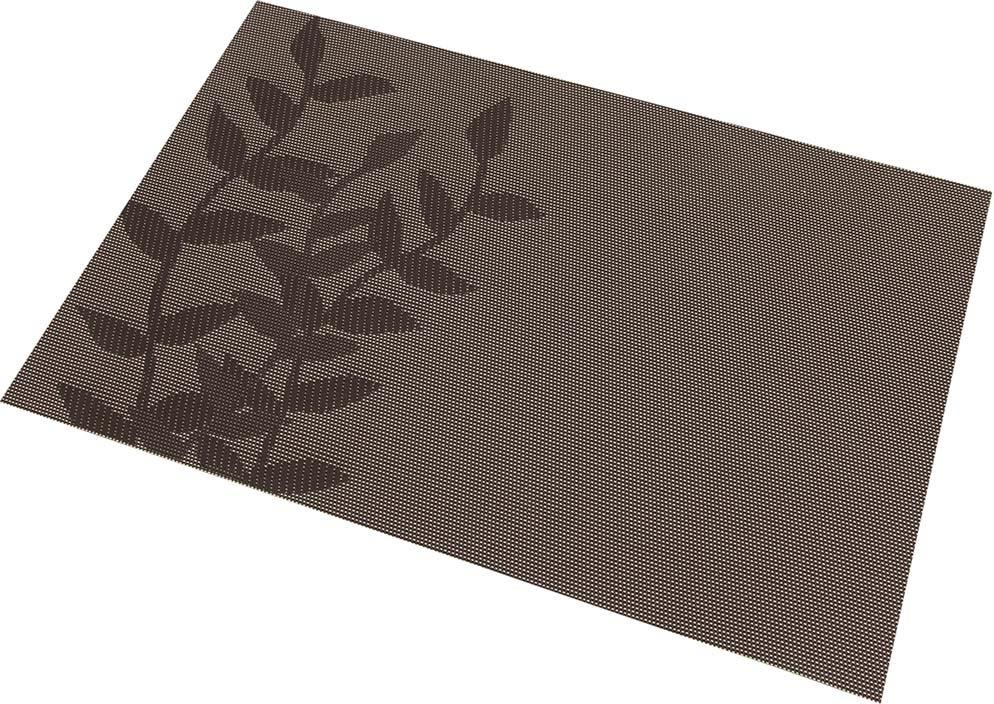 Салфетка Elan Gallery Ветви, цвет: коричневый, 45 х 30 см, 4 шт