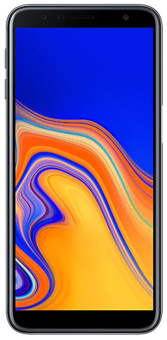 Смартфон Samsung Samsung Galaxy J6+ 32 GB, черный смартфон samsung galaxy j6 32 гб серый