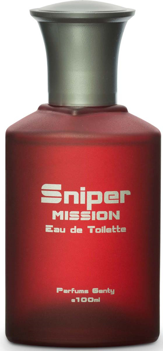 Туалетная вода Genty Sniper Mission Edt, для мужчин, 100 мл