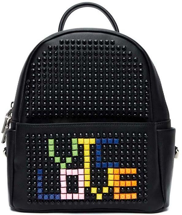 Рюкзак для девочки Vitacci, цвет: черный. BE2003 vitacci рюкзак vitacci для девочки
