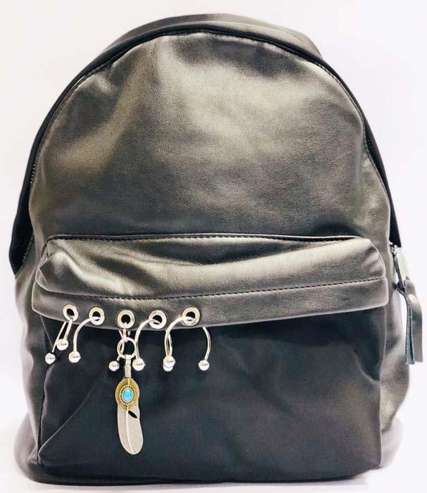 Рюкзак для девочки Vitacci, цвет: черный. BG01100 vitacci рюкзак vitacci для девочки