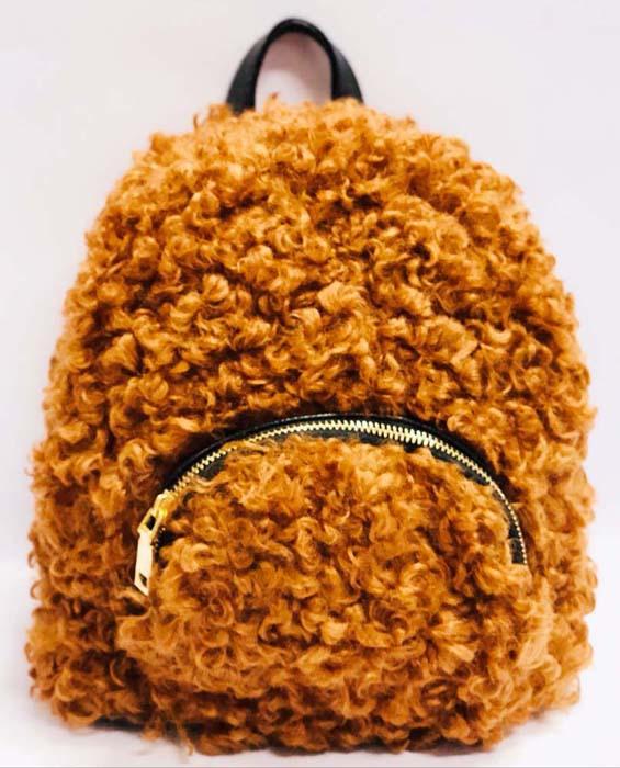 Рюкзак для девочки Vitacci, цвет: коричневый. BG18004 vitacci рюкзак vitacci для девочки