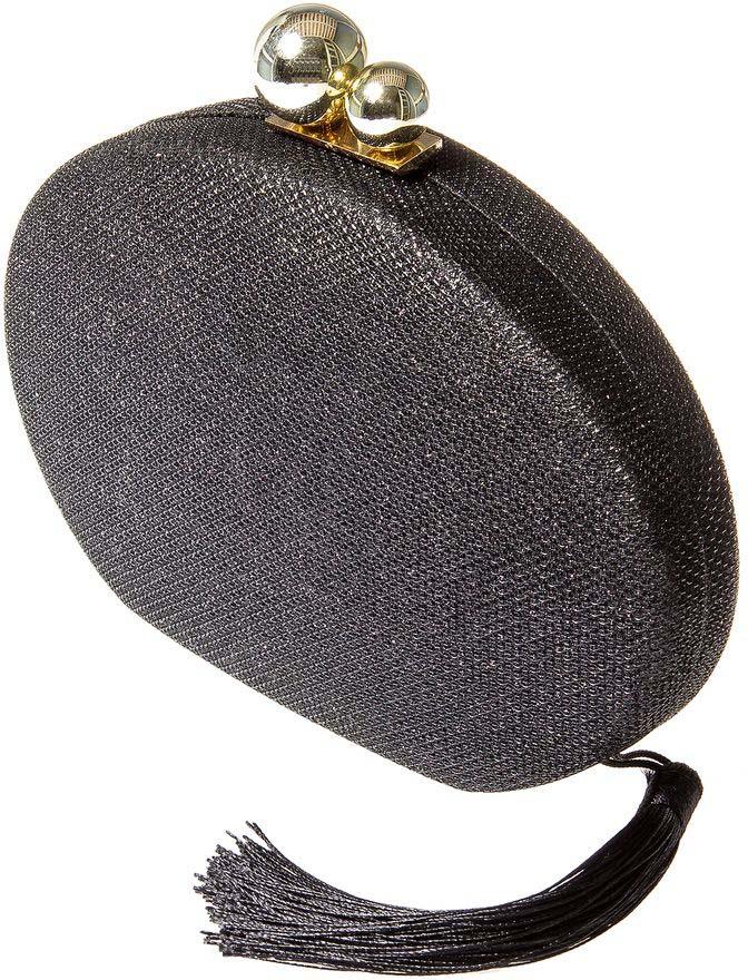 Клатч женский Aiyony Macie, цвет: черный, золотой. BG809001 тряпки чистящие bagi 20 х 20 см