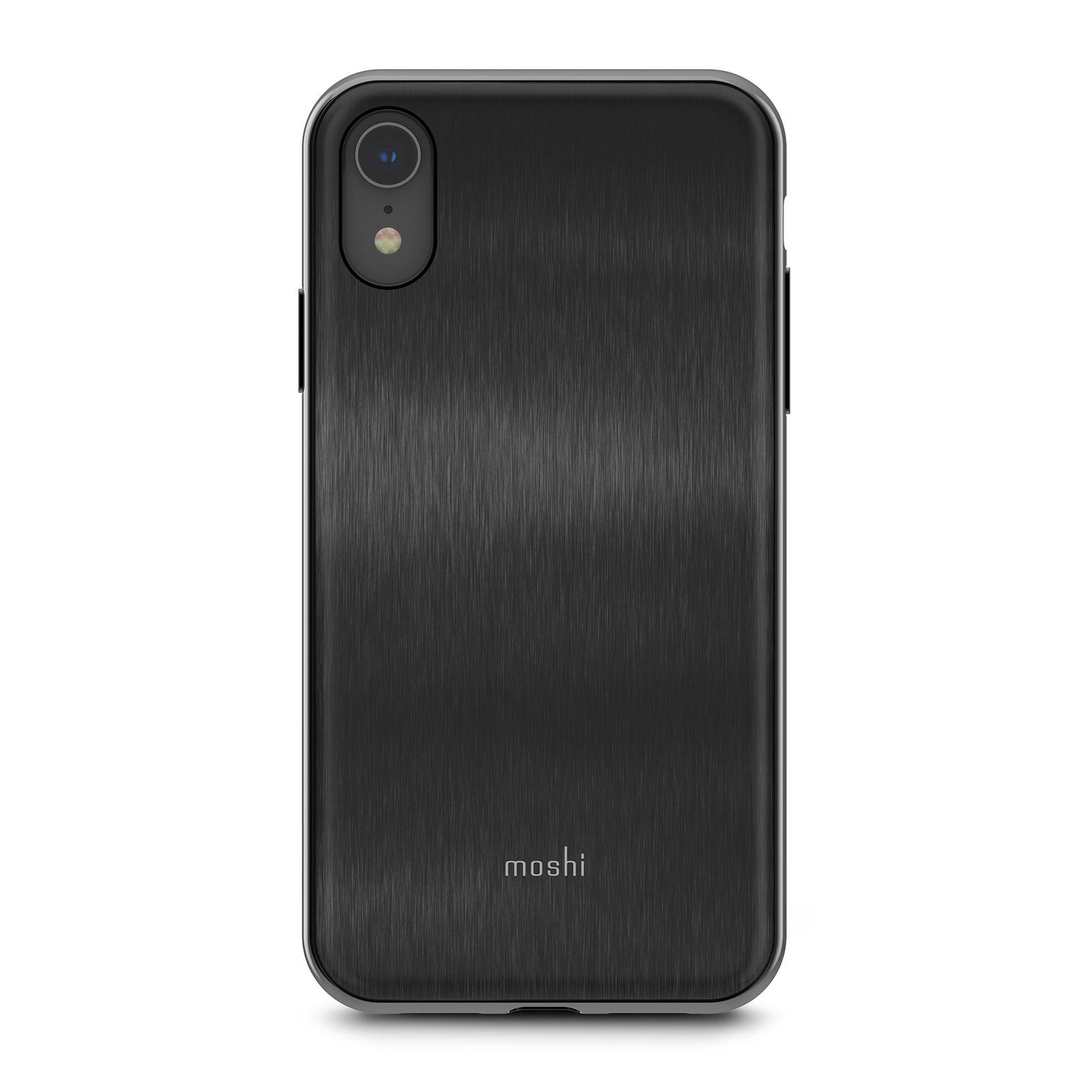Клип-кейс Moshi iGlaze для iPhone XR Armour Black клип кейс moshi iglaze для apple iphone xr красный